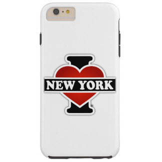 I Herz New York Tough iPhone 6 Plus Hülle