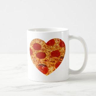 I Herz-Pizza Kaffeetasse