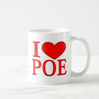 I Herz Poe Kaffeetasse