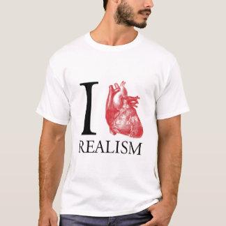 I Herz-Realismus T-Shirt