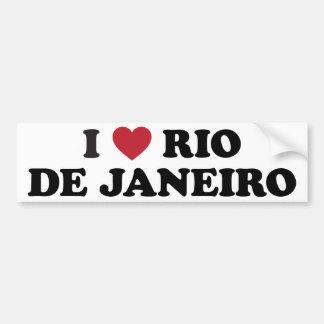 I Herz Rio de Janeiro Brasilien Autoaufkleber