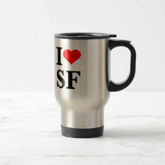I Herz San Francisco Reisebecher