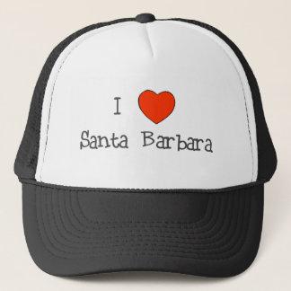 I Herz Santa Barbara Truckerkappe