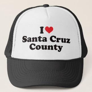 I Herz Santa Cruz County Truckerkappe
