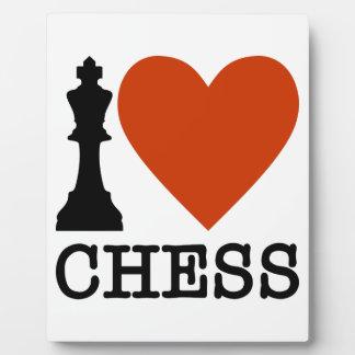 I Herz-Schach Fotoplatte