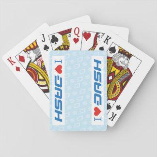 I Herz SCHLAG Karten Spielkarten