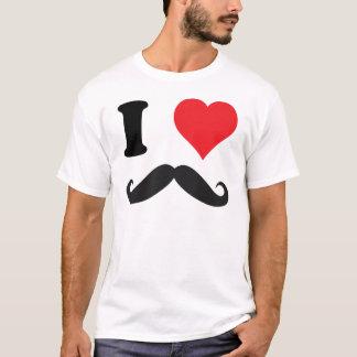 I HERZ-SCHNURRBART! T-Shirt