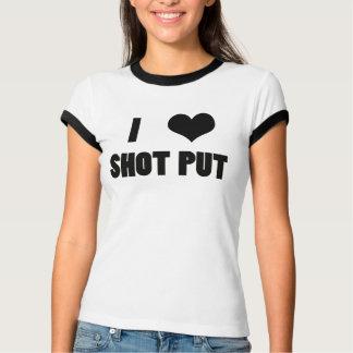 I Herz-Schuss gesetzt, Schuss gesetztes T-Shirt