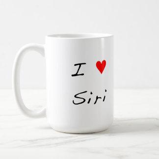 I Herz Siri Kaffeetasse