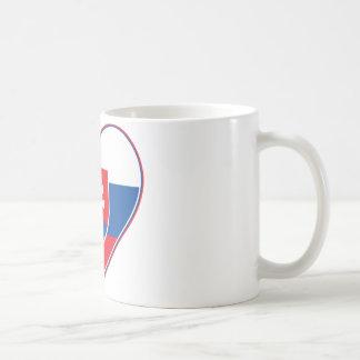 I Herz Slowakei Kaffeetasse