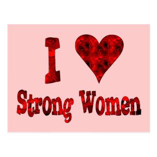 I Herz-starke Frauen Postkarte