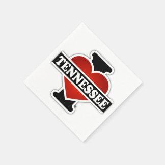 I Herz Tennessee Papierserviette