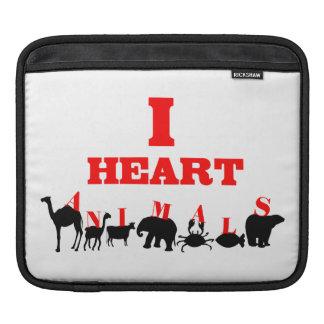 I Herz-Tiere iPad Sleeve