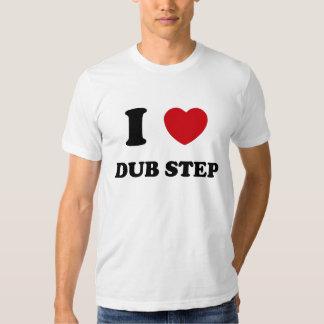 I Herz-Tollpatsch-Schritt T-shirt