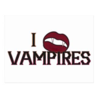 I Herz-Vampire Postkarte