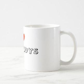 I Herz Van Nuys Kaffeetasse