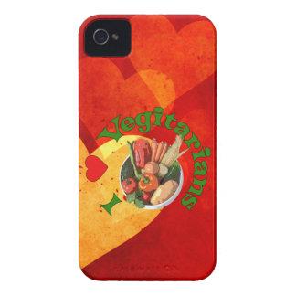 I Herz-Vegetarier iPhone 4 Case-Mate Hülle
