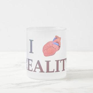 I Herz-Wirklichkeit Mattglastasse