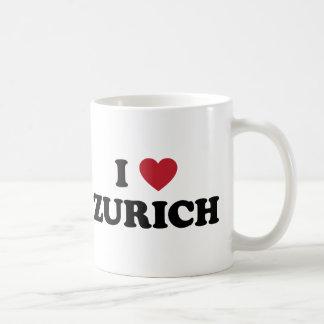 I Herz Zürich die Schweiz Kaffeetasse