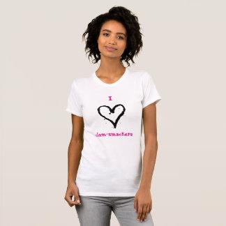 I Herzc$muschel-smackers-Shirt T-Shirt