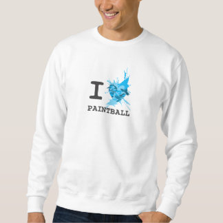 I Herzpaintball-Shirt Sweatshirt