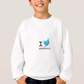 I HerzPaintball Sweatshirt