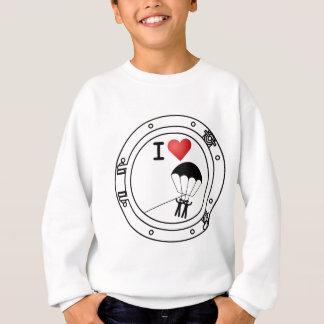 I HerzParasailing Sweatshirt