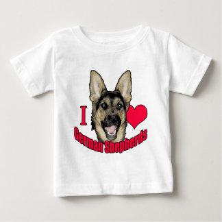 I Hirsch-Schäferhund Baby T-shirt