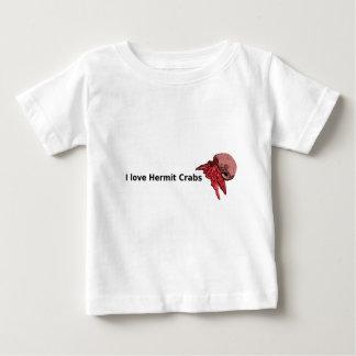 I Iove Einsiedlerkrebs-T-Shirt mit Baby T-shirt