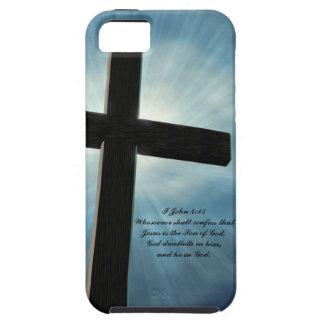 I John-4:15 iPhone 5 Schutzhüllen