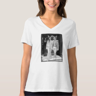 I Katze Sie, das entspannte V der Baby-Frauen - T-Shirt