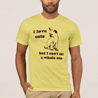 I Katzen der Liebe aber ich können ein ganzes T-Shirt