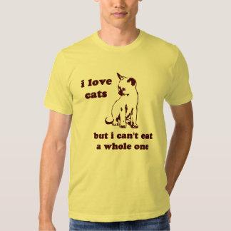 I Katzen der Liebe aber ich können ein ganzes Tshirts