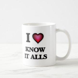 I kennen Liebe es Alls Kaffeetasse