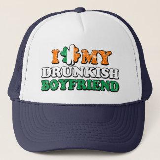 I Kleeblatt mein Drunkish Freund Truckerkappe