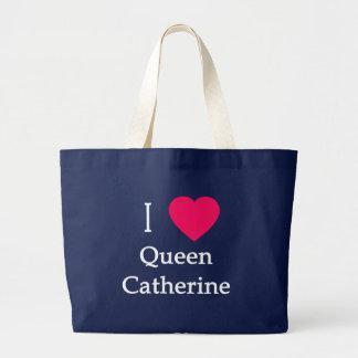 I Kleid der Herz-Königin-Catherine, Knöpfe, Tassen Jumbo Stoffbeutel
