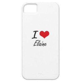 I künstlerischer Entwurf Liebe-Elaine iPhone 5 Case