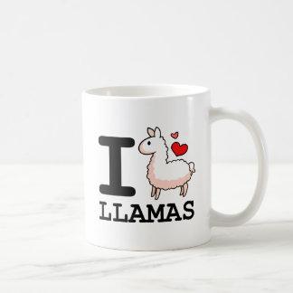 I Lama-Lamas Kaffeetasse
