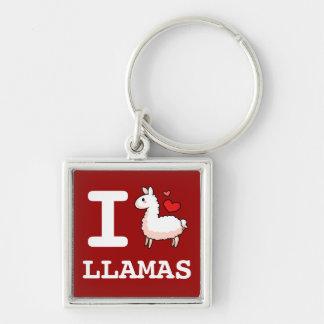 I Lama-Lamas Schlüsselanhänger