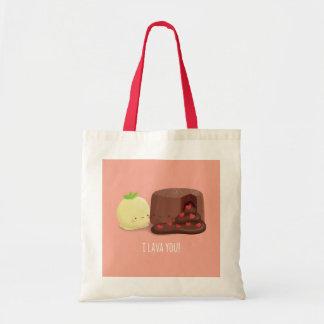 I Lava Sie Schokoladen-Kuchen-und Tragetasche