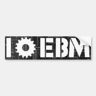 I Leiterplatte-Gang der Liebe-EBM Autoaufkleber