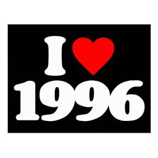 I LIEBE 1996 POSTKARTE