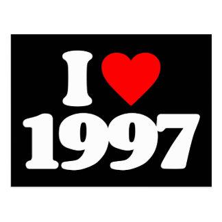 I LIEBE 1997 POSTKARTE