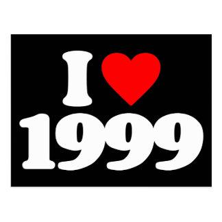 I LIEBE 1999 POSTKARTE