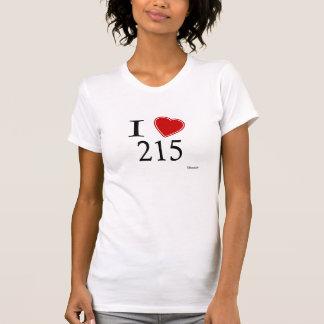 I Liebe 215 Philadelphia T-Shirt