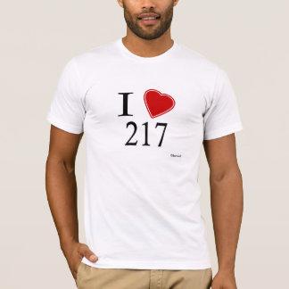 I Liebe 217 Springfield T-Shirt