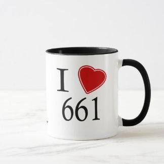 I Liebe 661 Bakersfield Tasse