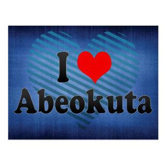 I Liebe Abeokuta, Nigeria Postkarte