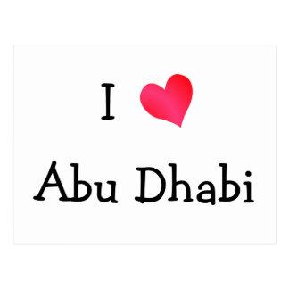 I Liebe Abu Dhabi Postkarte