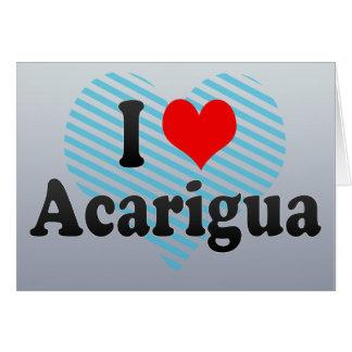 I Liebe Acarigua, Venezuela Karte